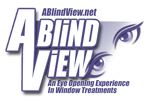 Logo, A Blind View, Window Treatments in Helenwood, TN
